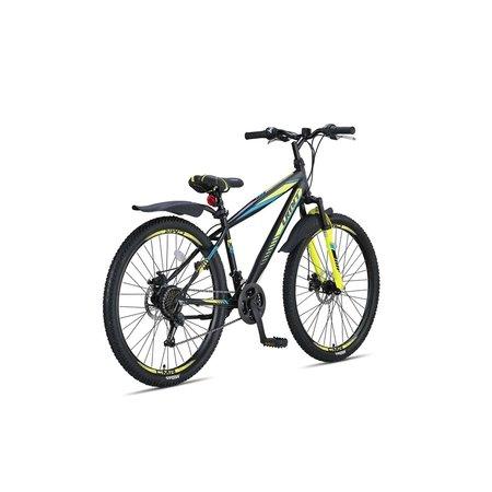 Umit Faster MTB  27,5 inch 2D  41cm 21v  Zwart Lime