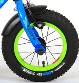 Volare Rocky Kinderfiets - Jongens - 12 inch - Blauw