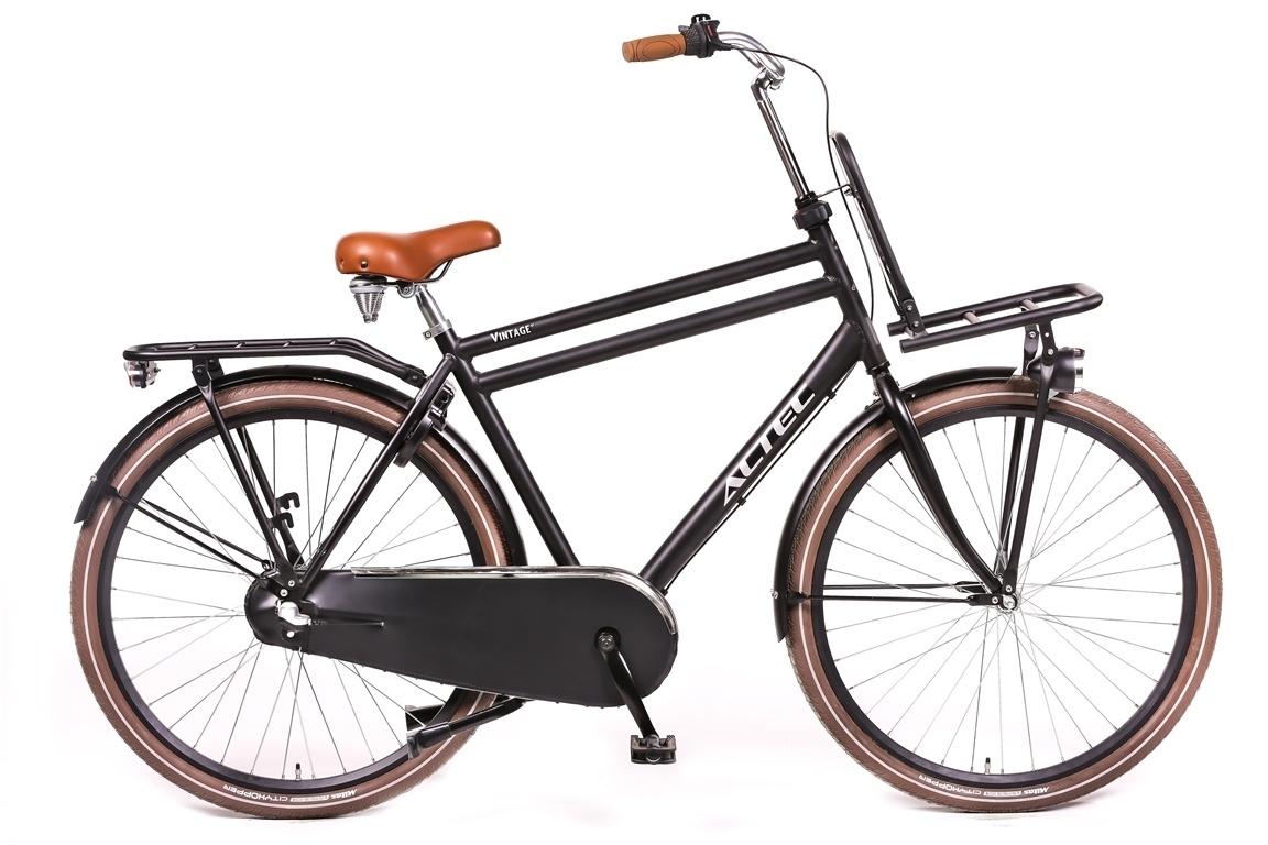 Altec Vintage Transportfiets 28 inch 61cm 3v Zwart online kopen