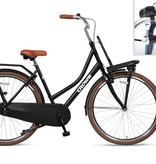 Crown Holland 28 inch transportfiets 53cm Zwart