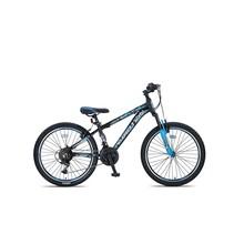 Umit Motion MTB 24 inch 35cm 21v Zwart Blauw