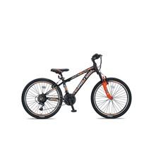 Umit Motion MTB 24 inch 35cm 21v Zwart Oranje