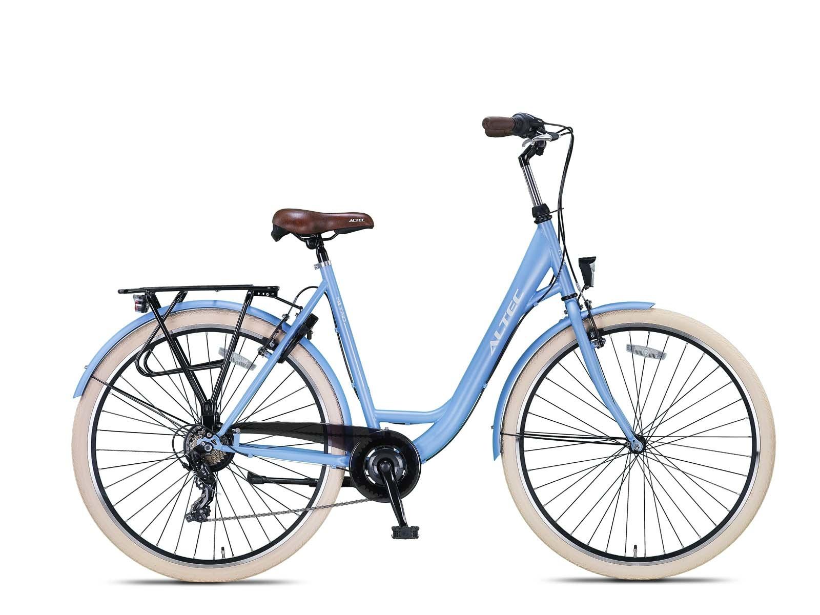 Altec Metro Plus 28inch Damesfiets 49cm Frozen Blue 7v online kopen