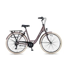 Altec Metro Damesfiets 28 inch 49cm Terra Brown 7v
