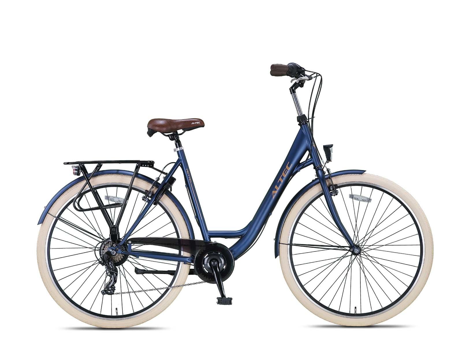 Altec Metro Plus Damesfiets 28 inch 55cm Jeans Blue 7v online kopen