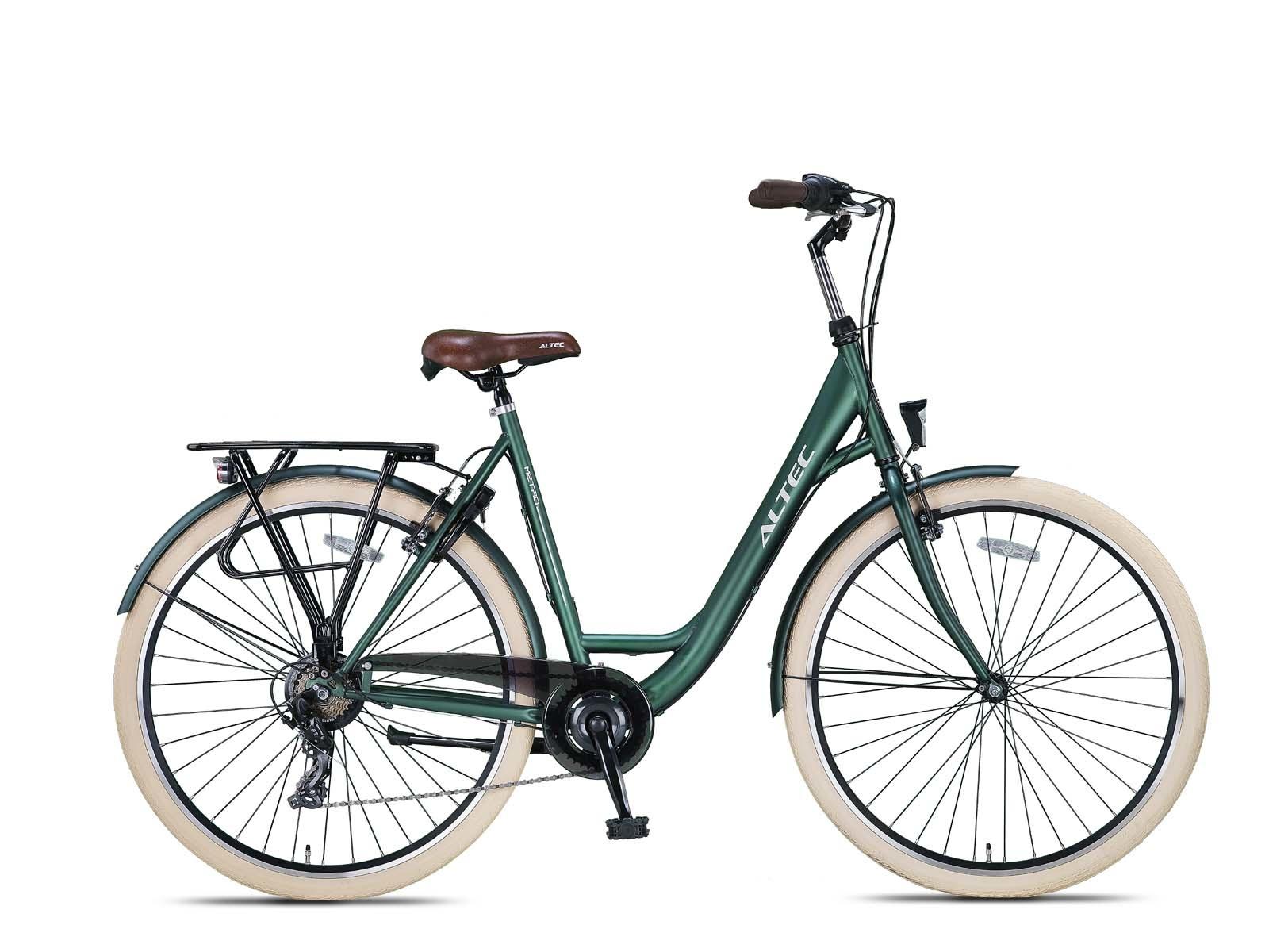 Altec Metro Plus Damesfiets 28 inch 55cm Army Green 7v online kopen