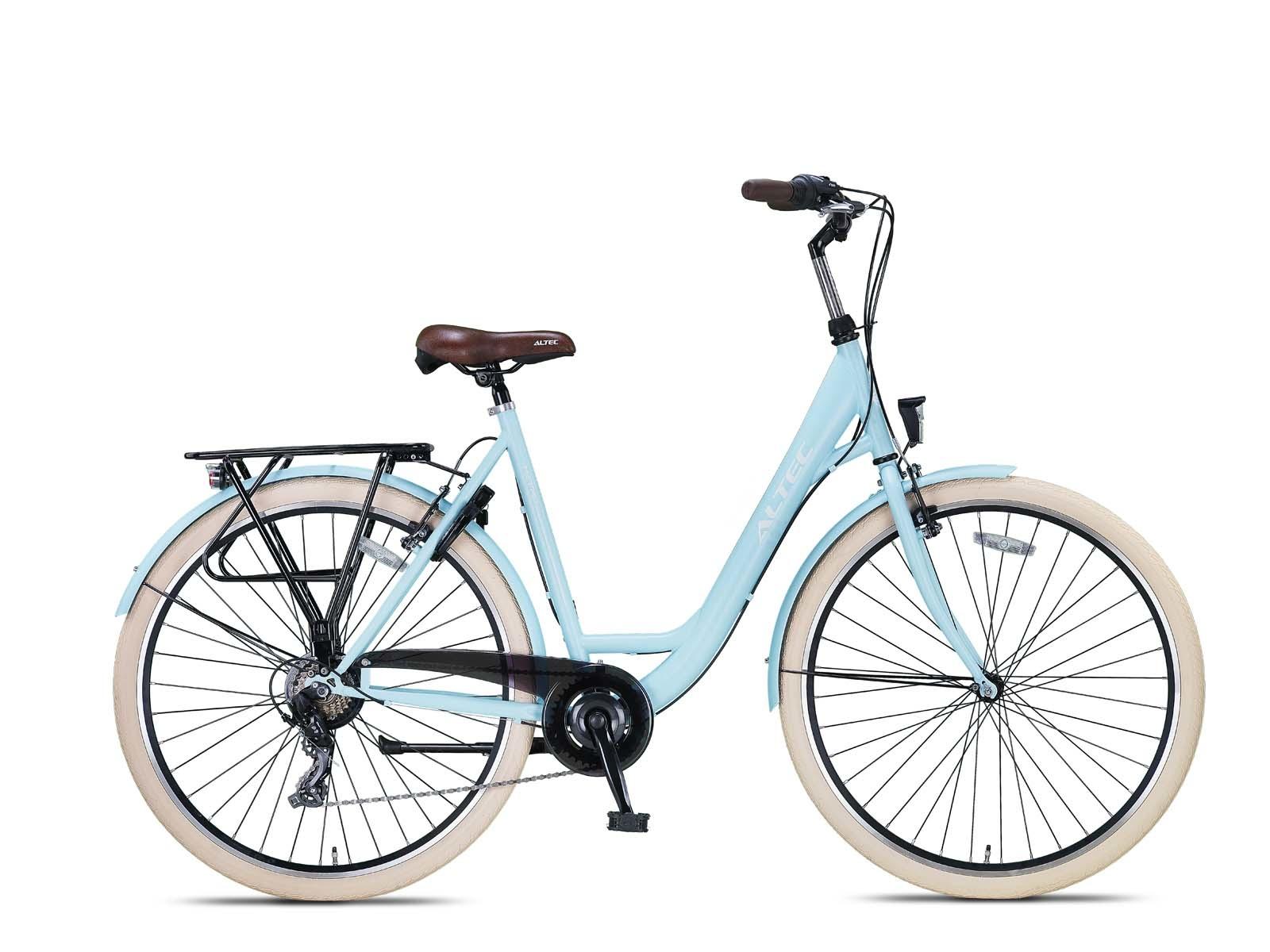 Altec Metro Damesfiets 28 inch 55cm Sky Blue 7v online kopen
