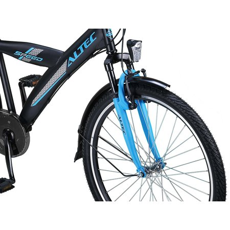 Altec Speed Jongensfiets 24 inch 3v Deep Sky Blue