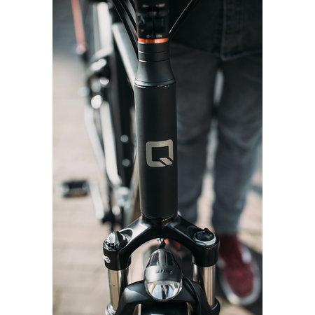 Qwic Premium MN7 Low step, 54 (L), Matte Black