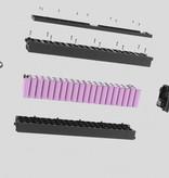 Qwic Premium Q MN8 Belt Low step, 54 (L), Asphalt blac
