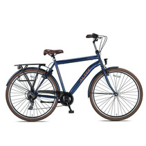 Altec Metro Herenfiets 28 inch 56 cm Jeans Blue 7v