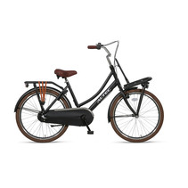 Altec Dutch Transportfiets 24 inch 3v Mat Zwart