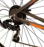 Mosso Wildfire Mountainbike 26 inch 53cm 21v Zwart Oranje