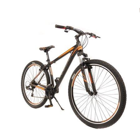 Mosso Wildfire Mountainbike 29 inch 45cm 21v Zwart Oranje