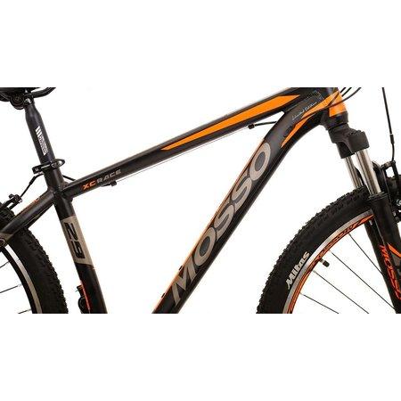 Mosso Wildfire Mountainbike 29 inch 40cm 21v Zwart Oranje