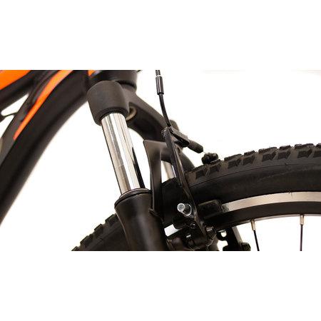 Mosso Wildfire Mountainbike 26 inch 53cm 21v Zwart Lime