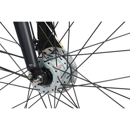 BSP Voyager Herenfiets 28 inch 64cm 7v Zwart Mat