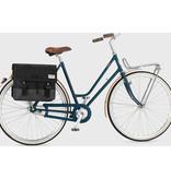 UP fietstas dubbel 40L recycled zwart grijs