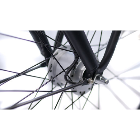 BSP Metropolis dames 51cm 3v zwart mat - Outlet