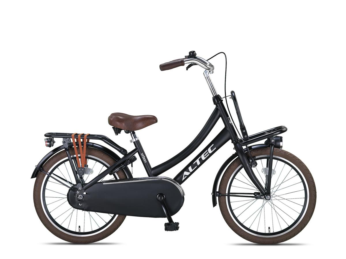 Altec Urban Transportfiets 20 inch Mat Zwart online kopen