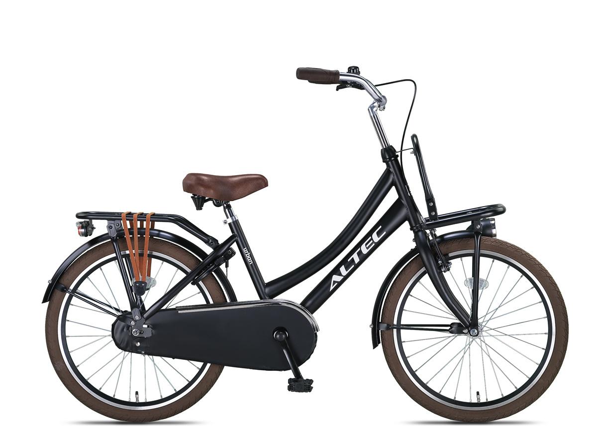 Altec Urban Transportfiets 22 inch Mat Zwart online kopen