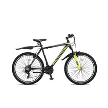 Umit Mirage MTB 26 inch 21v Zwart Lime  - Outlet