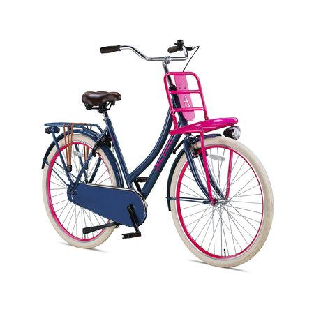 Altec Urban 28 inch Transportfiets 50cm Grijs Roze