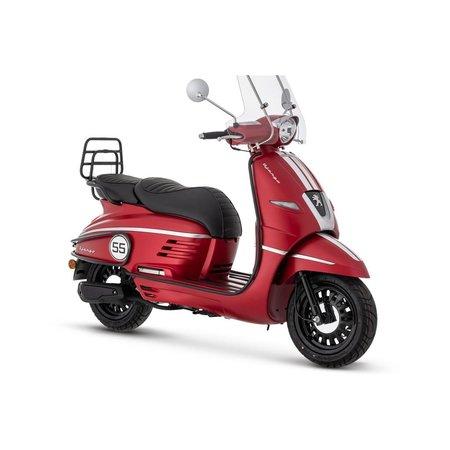 Peugot Peugeot Django premium Cherry Red Black Pack