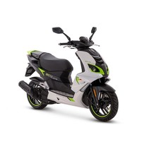 Peugeot Speedfight Icy White Fluo Green