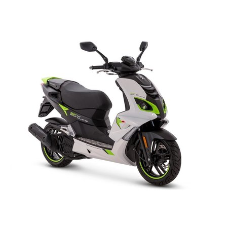 Peugot Peugeot Speedfight Icy White Fluo Green