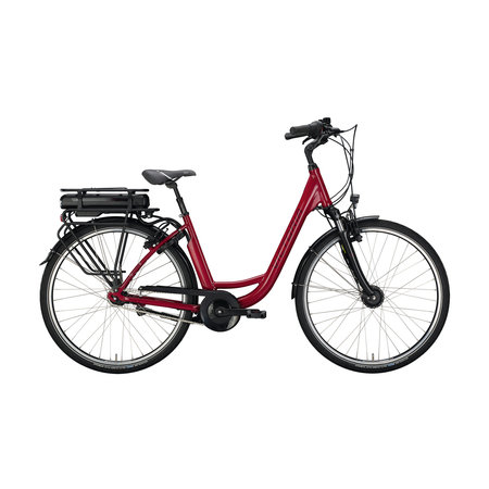 Winkel Outlet Victoria E-Classic 3.1 Dames 48cm Cranberry Red / Silver 7v