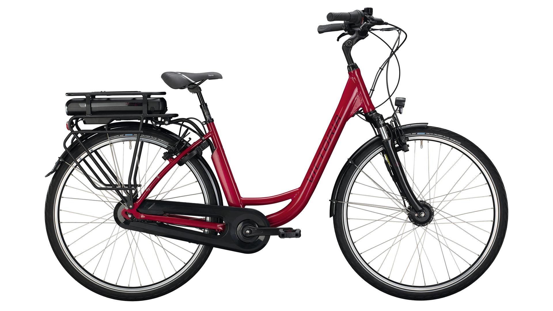 Victoria eClassic 3.1 Dames 53cm  Cranberry Red/Silver 7V