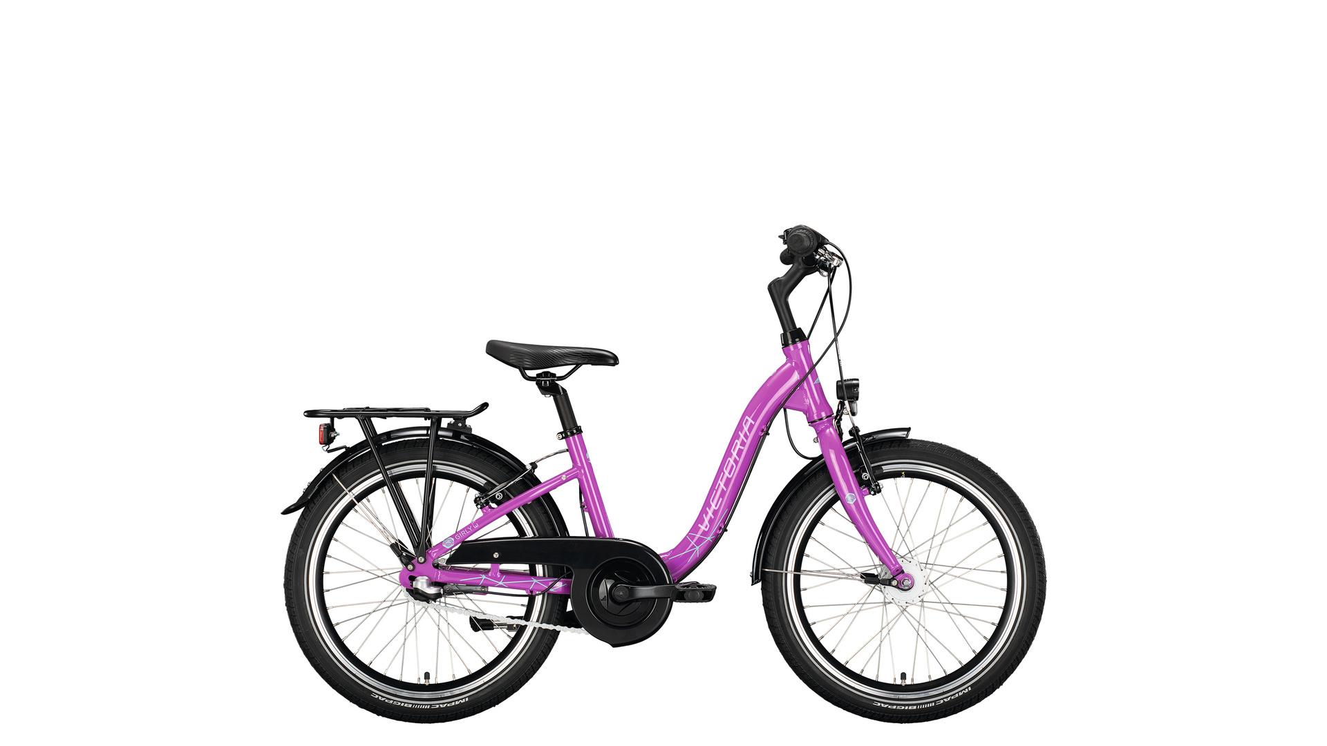 Victoria Girly 5.3 Meisjes 20 inch Ultra Violett 3V