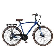 Umit Ventura Herenfiets 28 inch 21v 56cm Blauw Wit