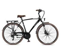 Umit Ventura Herenfiets 28 inch 21v 56cm Zwart Wit