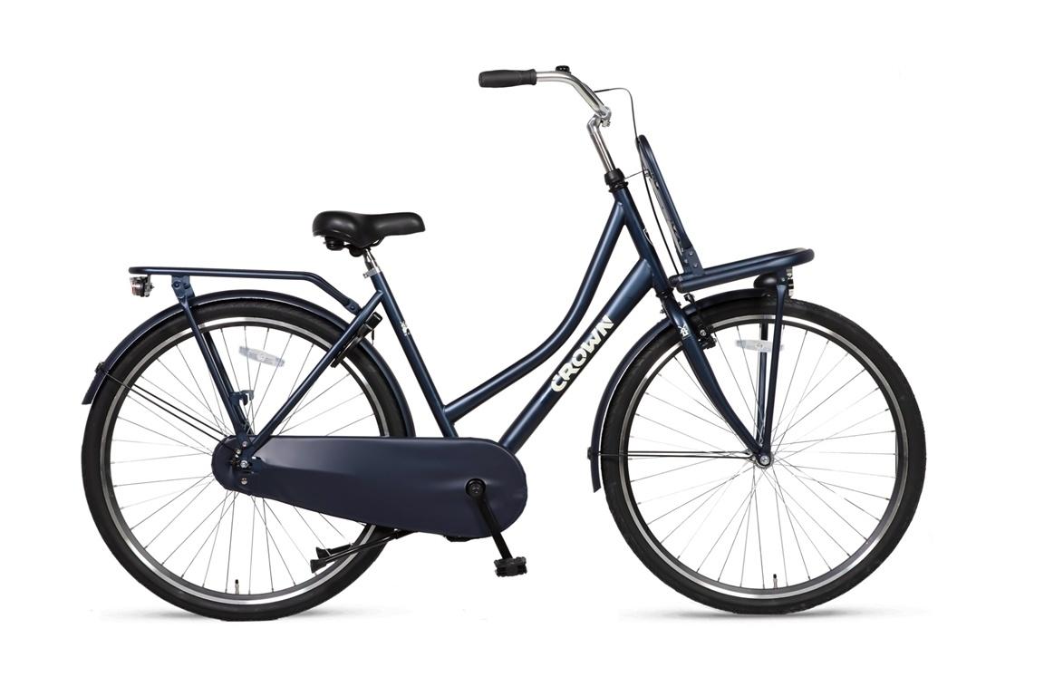 Crown Holland Transportfiets 28 inch 53cm Jeans Blue