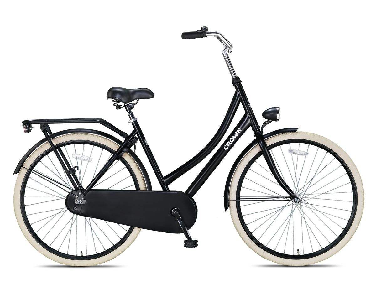 Crown Moscow Omafiets 28 inch 53cm Creme online kopen