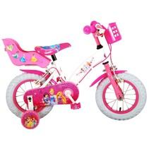 Disney Princess 12 inch meisjesfiets met twee handremmen