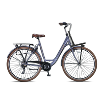 Altec Metro Plus 28 inch Damesfiets 55cm Mat Grey 7v