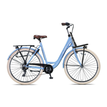 Altec Metro Plus 28inch Damesfiets 55cm Frozen Blue 7v