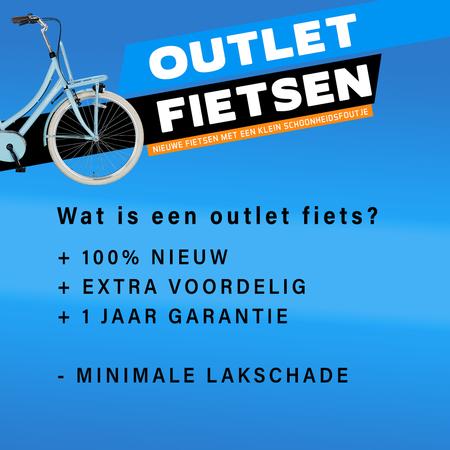 Outlet Altec Dutch Transportfiets 28 inch 53cm 3v Bruin