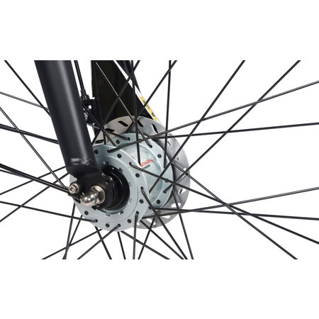 BSP Voyager Dames 50 cm Zwart Mat 7v