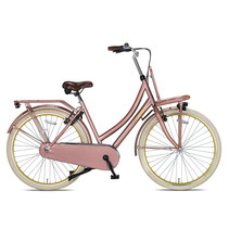 Outlet Crown Paris Transportfiets 28 inch v-brakes Love Rose