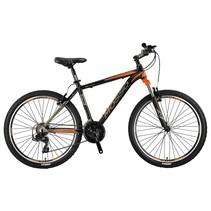 Winkel Outlet Mosso Wildfire Mountainbike 26 inch 47cm 21v Zwart Oranje