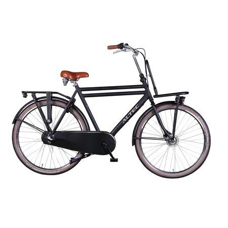Winkel Outlet Altec Retro 28 inch Transportfiets 58cm Heren Zwart