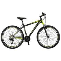 Winkel Outlet Mosso Wildfire Moutainbike  26 inch Zwart-Lime