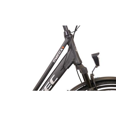 Altec Omega Plus Herenfiets 28 inch 54cm 7v Mat Zwart