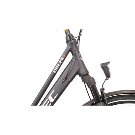 Altec Delta Plus Herenfiets 28 inch 3v 54cm Mat Zwart
