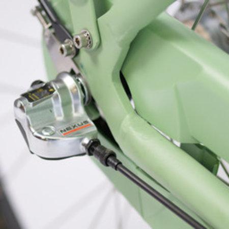 Winkel Outlet BSP Metropolis Comfort Dames 57 cm Retro Groen 3v