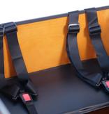 Vogue Winkel Outlet Vogue Superior 3 Bakfiets 48cm Matt Black/Brown 7V